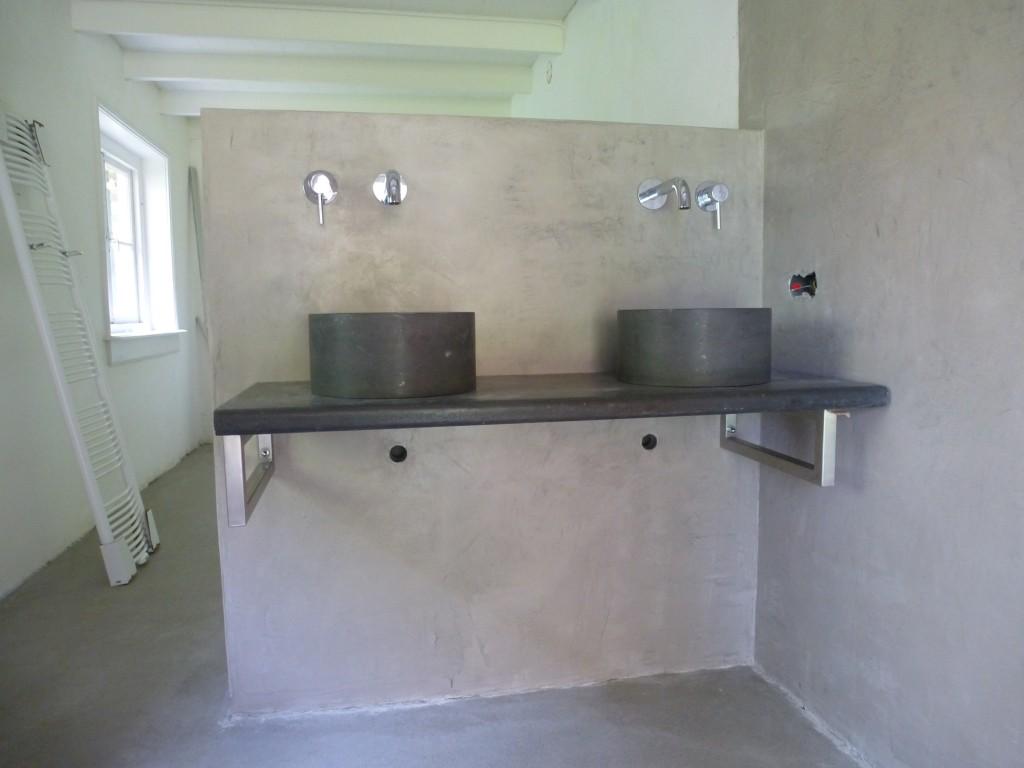Aannemersbedrijf wevers - Badkamer in m ...